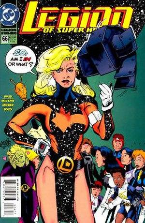 Laurel Gand - Image: Andromeda (DC comics)