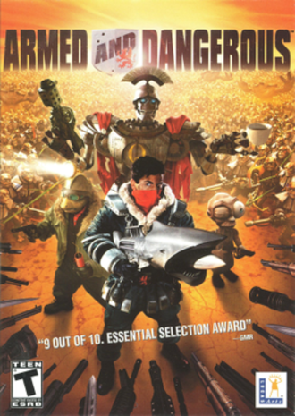 Armed and Dangerous (video game) - Cover art