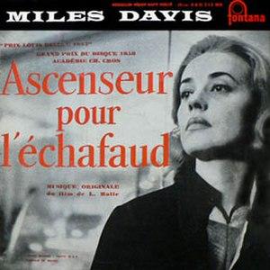 Ascenseur pour l'échafaud (soundtrack) - Image: Ascenseur Miles Cover