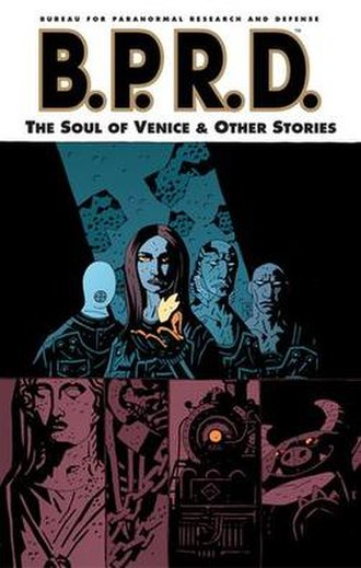 B.P.R.D.: The Soul of Venice and Other Stories - Trade Paperback Cover
