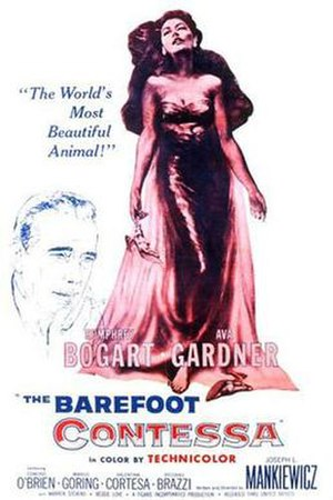 The Barefoot Contessa - Theatrical Film Poster