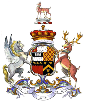 William Noel-Hill, 3rd Baron Berwick - Image: Baron Berwick coa
