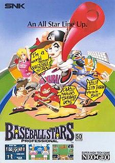 <i>Baseball Stars Professional</i> video game