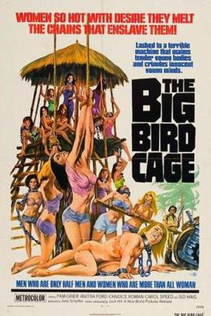 The Big Bird Cage - Film poster by Joseph Smith
