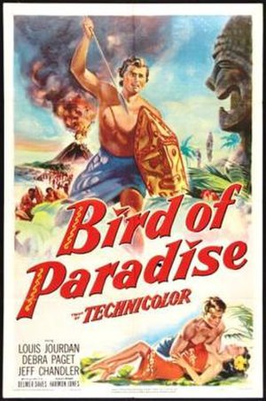 Bird of Paradise (1951 film) - Theatrical release poster