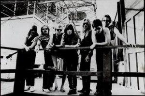 Black Rose (Cher album) - The Black Rose Band.