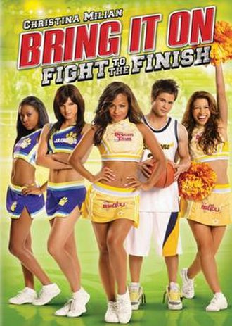 Bring It On: Fight to the Finish - DVD cover