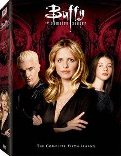 <i>Buffy the Vampire Slayer</i> (season 5) 2000-2001 season of Buffy the Vampire Slayer