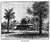 A Burmese Zayat