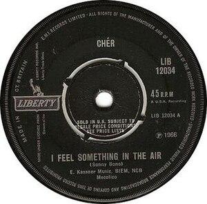 I Feel Something in the Air - Image: Cher i feel something in the air liberty