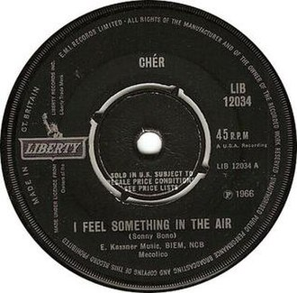 I Feel Something in the Air - Image: Cher i feel something in the air liberty