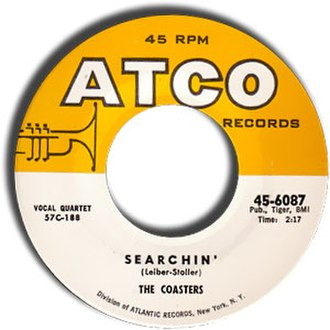 Searchin' - Image: Coasters searchin 3