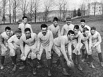 Samuel Colgate Jr. - Image: Colgate 1890football