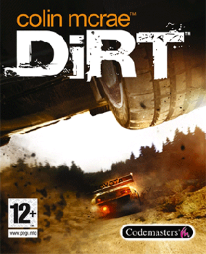 Colin McRae: Dirt - Image: Colin Mc Rae Dirt cover