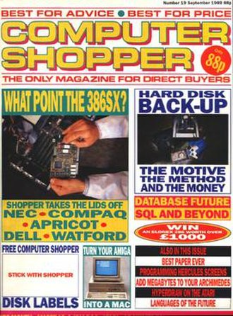 Computer Shopper (UK magazine) - September 1989 issue