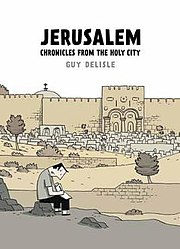 Cover of Jerusalem, by Guy Delisle.jpg