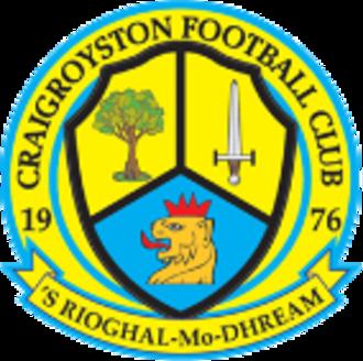 Craigroyston F.C. - Image: Craigroyston