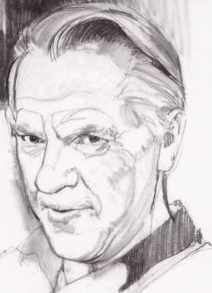 Curt Swan - Portrait of Curt Swan by Stan Drake.