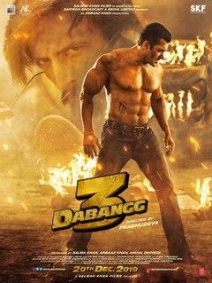 <i>Dabangg 3</i> Indian action film directed by Prabhu Deva