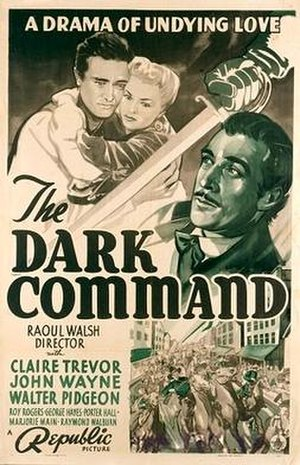 Dark Command - 1940 film poster