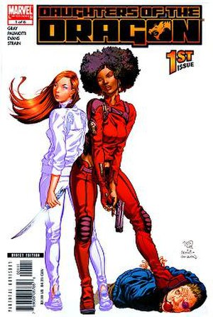 Misty Knight - Image: Daughters of the Dragon