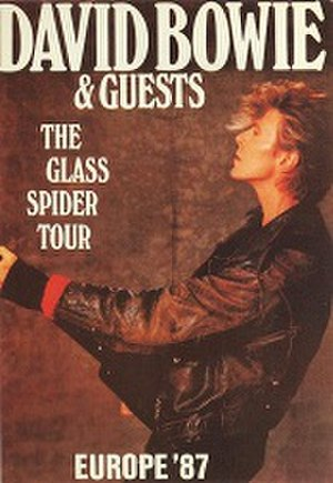 Glass Spider Tour - Image: David Bowie European Glass Spider Tour Promotional Poster