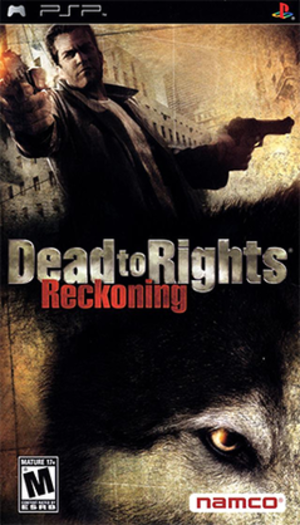 Dead to Rights: Reckoning - Image: Dead to Rights Reckoning Coverart