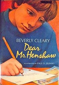 Dear mr henshaw book summary