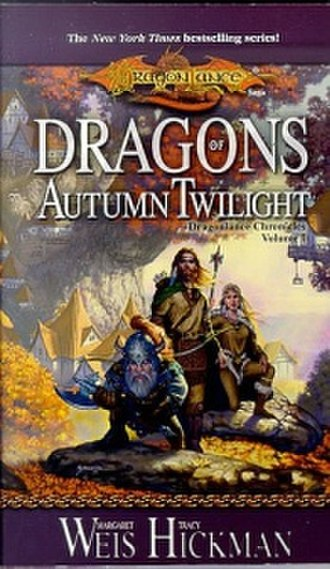 Dragons of Autumn Twilight - 2000 paperback edition cover