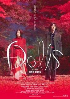 <i>Dolls</i> (2002 film) 2002 Japanese film directed by Takeshi Kitano