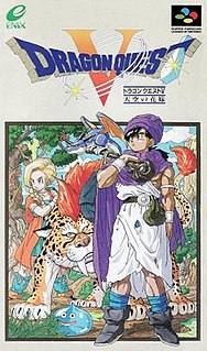 <i>Dragon Quest V</i> role-playing video game