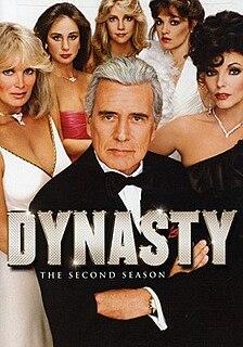 <i>Dynasty</i> (1981 TV series, season 2) Season of television series
