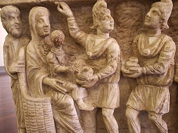 One of the earliest known depictions from a th...