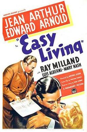 Easy Living (1937 film) - Film poster