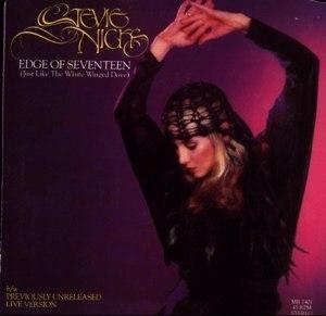 Edge of Seventeen - Image: Edge Of Seventeen Single Cover
