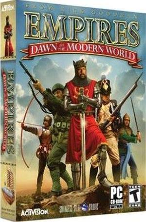 Empires: Dawn of the Modern World - Image: Edotmwbox
