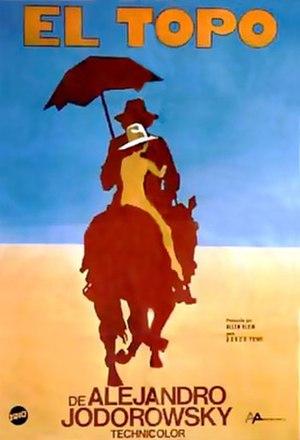 El Topo - Theatrical release poster