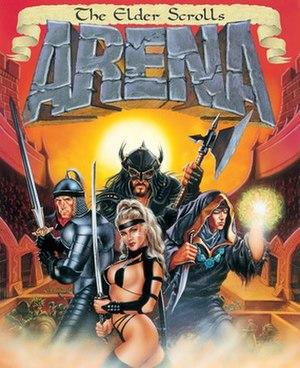 The Elder Scrolls: Arena - Image: Elder Scrolls Arena Cover