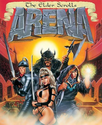 The Elder Scrolls: Arena - Image: Elder Scrolls Arena Cover