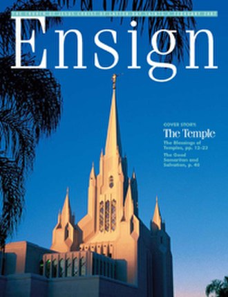 Ensign (LDS magazine) - Image: Ensign Magazine
