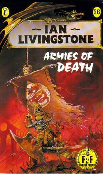 Armies of Death - The original Puffin Books cover (1988)