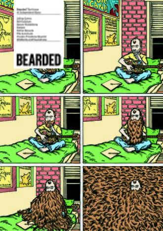 Jeffrey Lewis - Jeffrey Lewis-designed issue of Bearded.