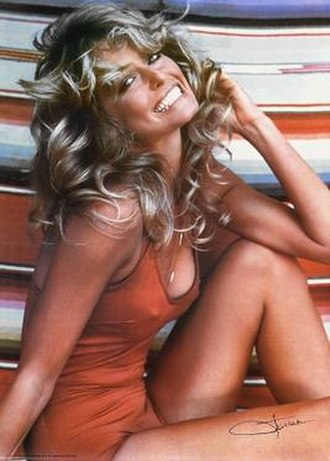 I Married Marge - Image: Farrah Fawcett iconic pinup 1976