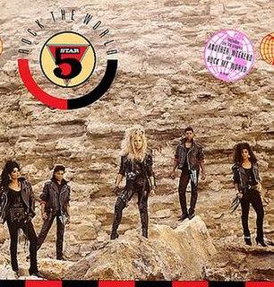 <i>Rock the World</i> (Five Star album) 1988 studio album by Five Star