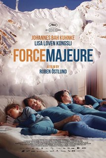 <i>Force Majeure</i> (film) 2014 film