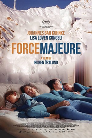 Force Majeure (film) - Theatrical release poster
