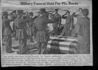 Ronald A. Burdo - Image: Funeralburdo