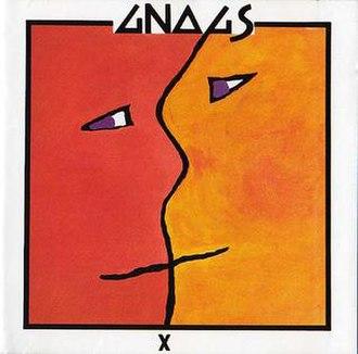 X (Gnags album) - Image: GNAGS X