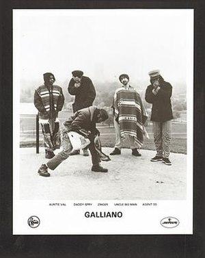 Galliano (band) - Galliano, 1991