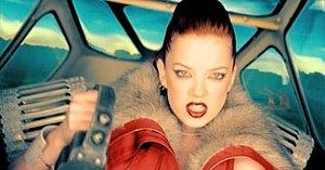 """Special (Garbage song) - Shirley Manson in the """"Special"""" video."""